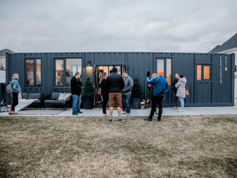 High Cube 40 Ft Container Home